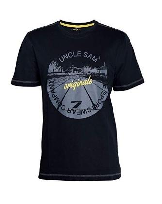 590b7d3be98 Uncle Sam 6XL černé tričko