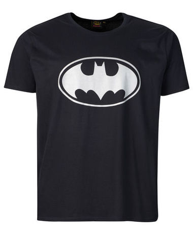DC Comics™Batman T-Shirt Mens černé 3XL