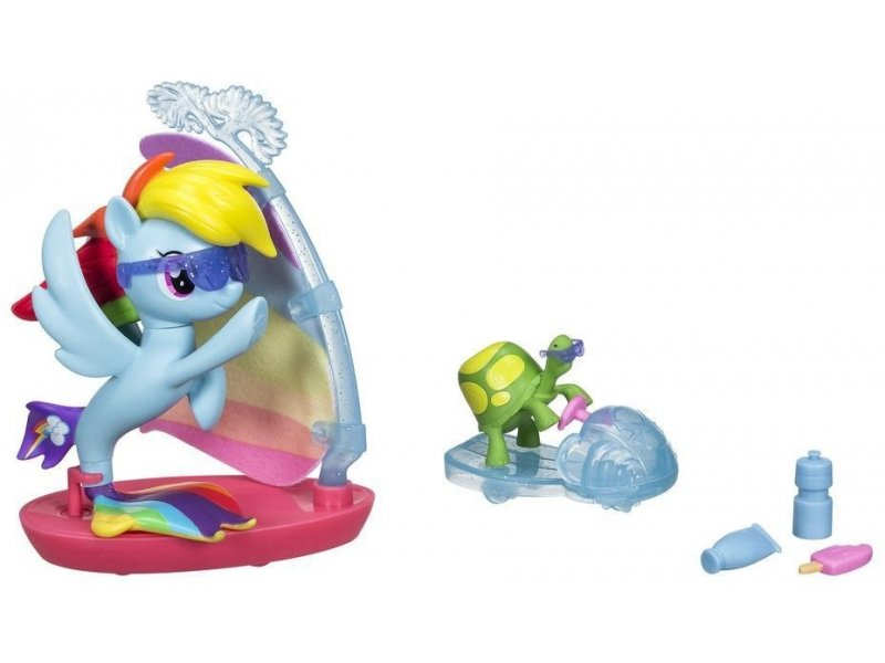 Rainbow Dash surfující set