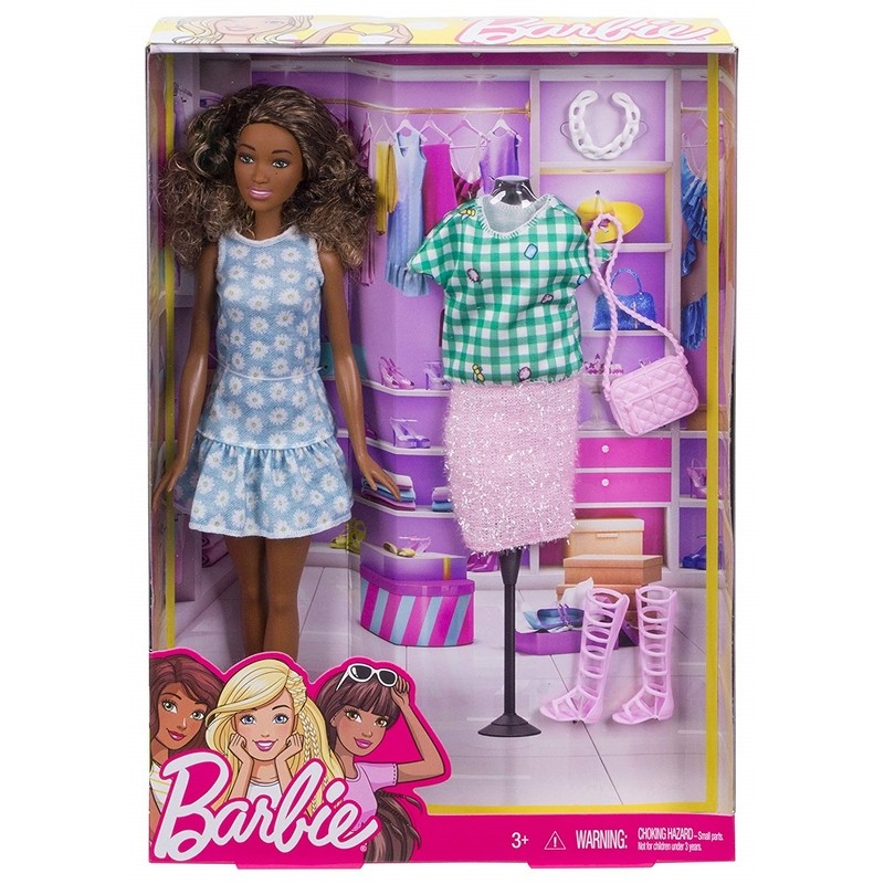 Panenka Barbie Mulatka Fashion